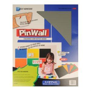 Pinwall donker grijs